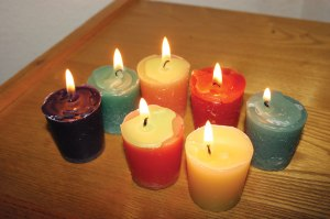 Candles From Recycled Wax